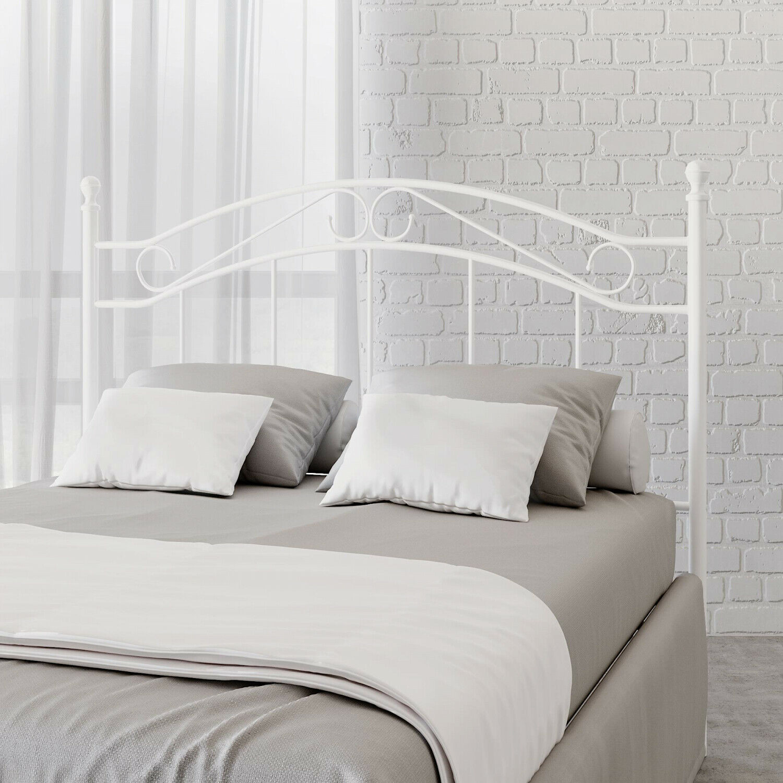 Full Size Canopy Bed Copper Metal Frame Bedroom Modern Headboard Furniture Girls For Sale Online Ebay