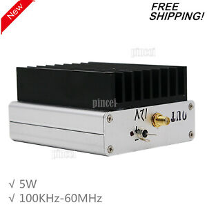 100KHz-60MHz-RF-Power-Amplifier-5W-Liner-Amplifier-RF-Broadband-HF-Amp