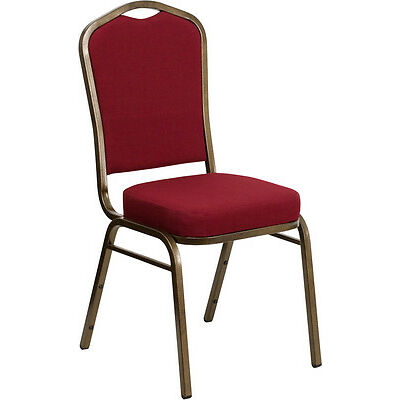 Flash Furniture HERCULES Series Crown Back Stacking Banquet Chair with...