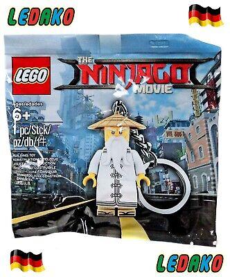 Lego® Schlüsselanhänger Stein 2x4 schwarz  852098 Neu mit Tag