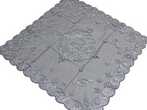 Charmant Image Is Loading Luxury Floral Beaded Tablecloth  India Handcrafted Elegant Designer