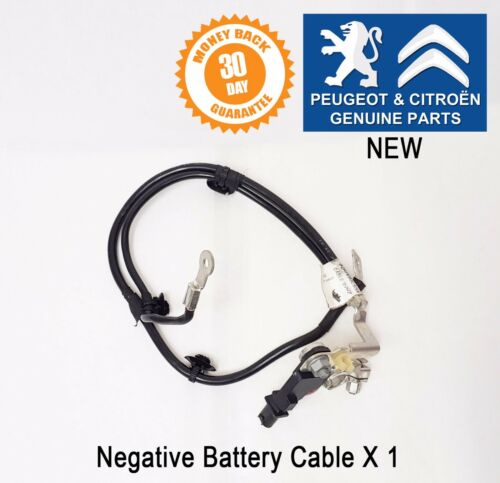 Citroen C4 Picasso Negative Battery Cable AT6 Stop /& Start Genuine 9816218180