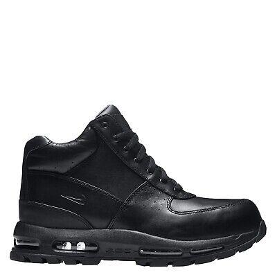 Nike Air Max Goadome ACG Leather Boots Triple Black ...