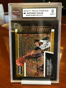 2016-17 Panini Threads #/25 Anthony Davis Board of Directors Orange Dazzle SSP