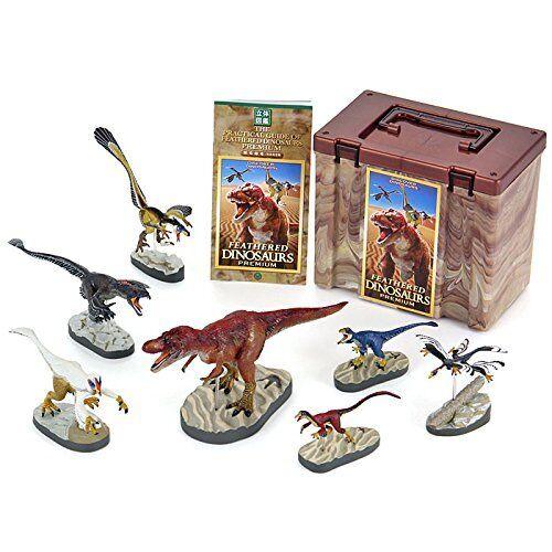 Farbeata 3D Real Figure Box Discover Dinosaurs Featherot Dinosaurs Premium Japan