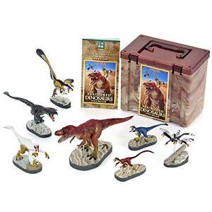 Colorata 3d Vrai Figurine Boîte Découvre Dinosaures À Plumes Premium Japon