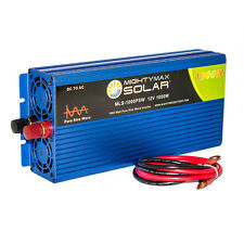 Mighty Max 12V 1000 Watt Pure Sine Wave Inverter for Marine
