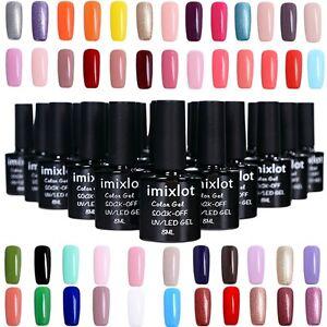 Nouveau-Serie-Colore-Nudo-Smalto-Semipermanente-Gel-UV-LED-Ricostruzione-8ML