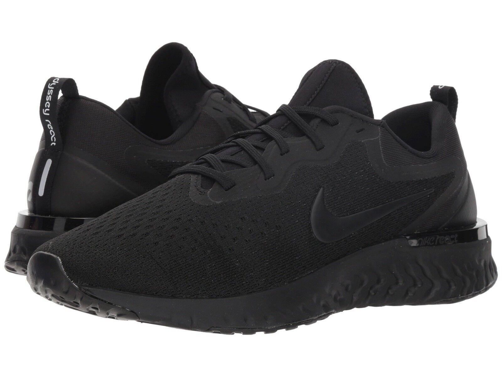 AO9819-010 Men's Nike React Odyssey NIB Running Black/Black Sizes 8-13 NIB Odyssey c3046f