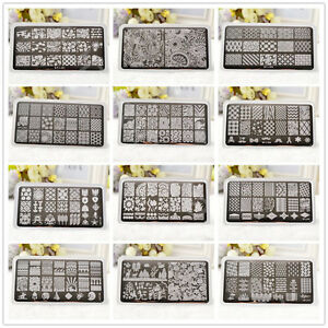 BORN-PRETTY-Nail-Stamping-Image-Plates-Nail-Art-Stamp-Design-Stencil-Template