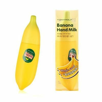 TONYMOLY / Magic Food Banana Hand Milk 45ml / Free Gift / Korea Cosmetic