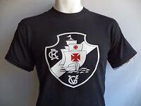 Club De Regatas Vasco Da Gama Brasil T Shirt Soccer Futebol