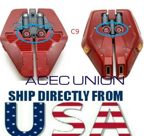 Metal Detail-Up RED Luxury Thruster Set C9 For 1//100 MG Gundam SELLER U.S.A