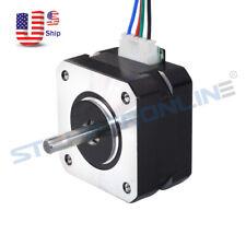 Nema 17 Stepper Motor Bipolar 18deg 13ncm184ozin 07a 25m 4 Wire 3d Printer