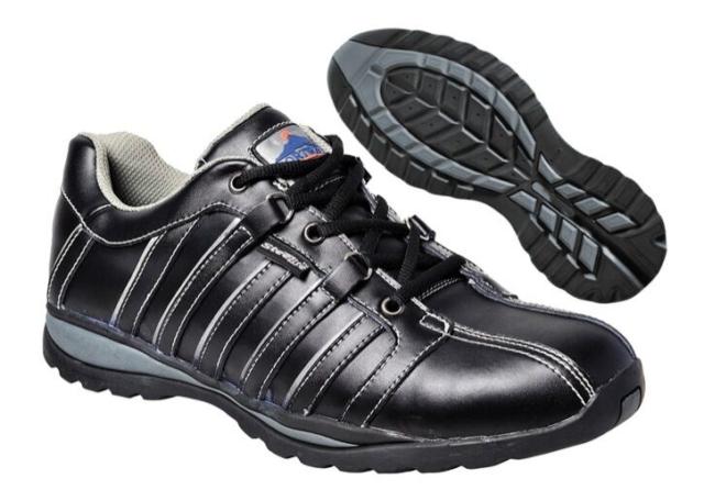 Chaussure de sécurité S1P, basket de travail S1P noir Portwest FW33 Steelite Arx
