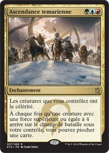 ▼▲▼ Ascendance temurienne (Temur Ascendancy) TARKIR KTK #207 VF Magic