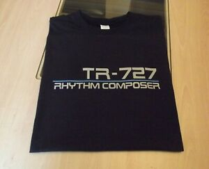 RETRO-T-SHIRT-SYNTH-DESIGN-TR-727-DRUM-MACHINE-S-M-L-XL-XXL