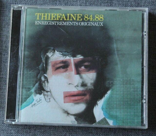 Hubert Felix Thiefaine, 84-88 - best of, CD