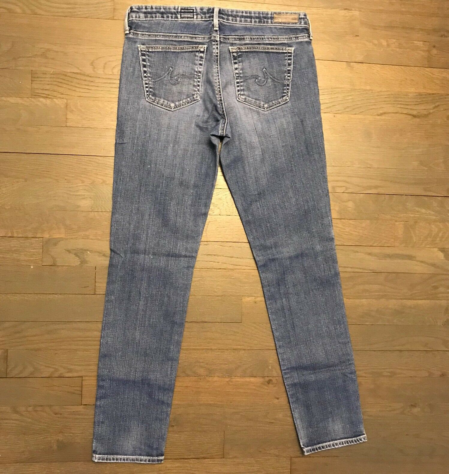 AG Adriano goldschmied The Stilt Cigarette Leg Stretch Denim Jeans Woman's 29R