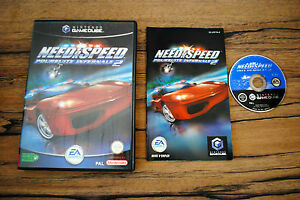 Jeu-NEED-FOR-SPEED-POURSUITE-INFERNALE-2-Complet-pour-Nintendo-Game-Cube-GC