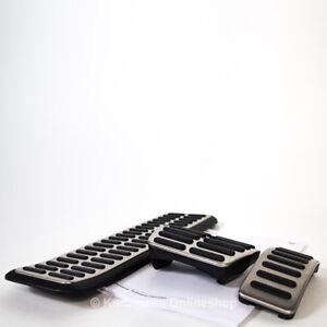 original audi a1 pedalkappen pedal set satz automatik sportpedale 8x1064205b ebay. Black Bedroom Furniture Sets. Home Design Ideas