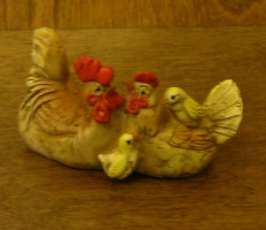 Top-Land-Enchanted-Story-Fairy-Garden-4055-CHICKEN-FAMILY-From-Retail-Store