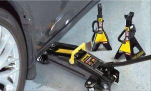 2-1/4 Ton Professional Hydraulic Floor Jack Car 2 Heavy ...