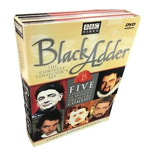 Black-Adder-Complete-Collector-039-s-Set-DVD-2001-5-Disc-TV-comedy-Rowan-Atkinson