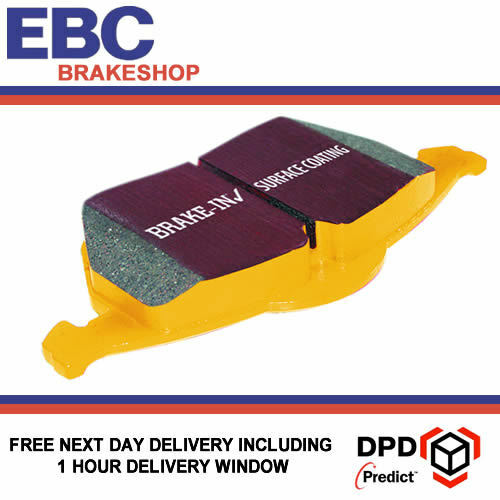 EBC YellowStuff Brake Pads for PORSCHE 911 DP41454R Cast Iron Only 996