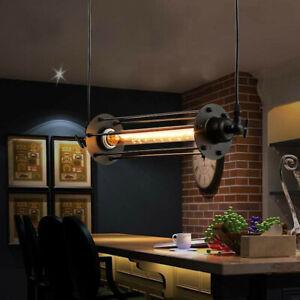 Industrial-Retro-Vintage-Flute-Pendant-Lamp-Kitchen-Bar-Hanging-Ceiling