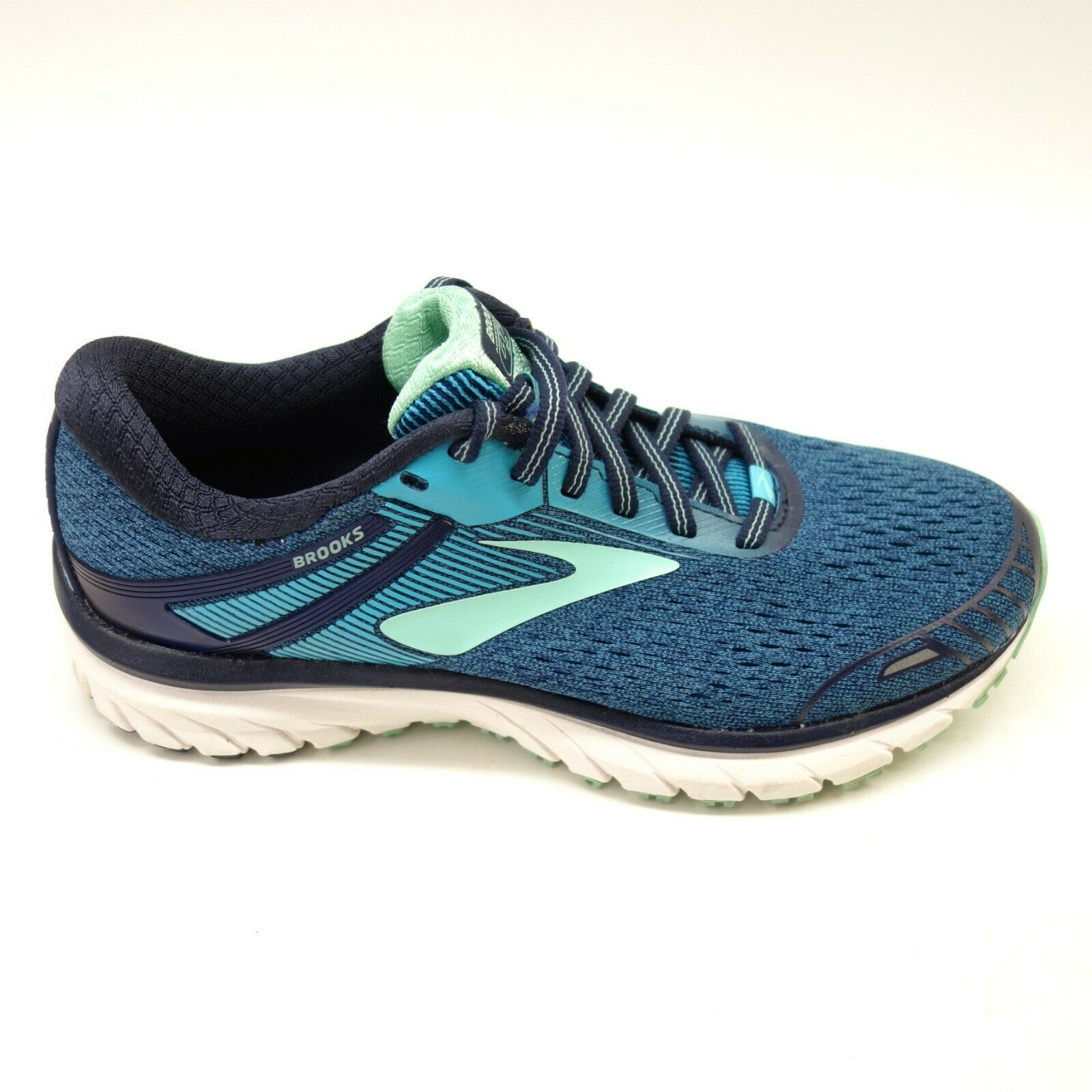 Brooks Womens Adrenaline GTS 18 bluee Athletic DNA Road Running shoes US 7