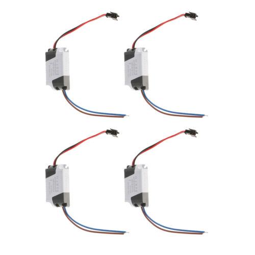 4Pcs LED Driver 8-12W Non-Dimmable Ceiling Lampe Transformateur Alimentation