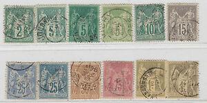 FRANCOBOLLI-1876-81-FRANCIA-SAGE-Z-895