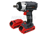 18v Cordless Impact Wrench Brushless Motor 2 X Lithium Battery 2 Speed Gearbox