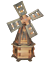 Wooden-Garden-Windmill-Large-85-cm-235-cm-Wood-Windmills-Garden-Ornaments thumbnail 14