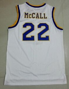 fe2dd251dfce Quincy Crenshaw McCall 22 High School Love and Basketball Jersey ...