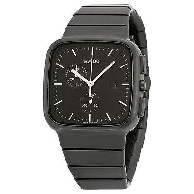 Rado True R5.5 Black Dial Chronograph Ceramic Mens Watch R28886162
