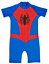 Marvel Spiderman Sun Suit All In One Swimming Beach Holiday Summer Kids Size