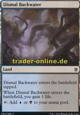 2x Dismal Backwater (Tristes Gewässer) Khans of Tarkir Magic