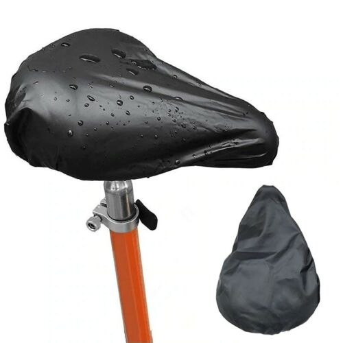 Bicycle Seat Rain Cover Outdoor Waterproof Elastic Dust and Rain Resistant UV
