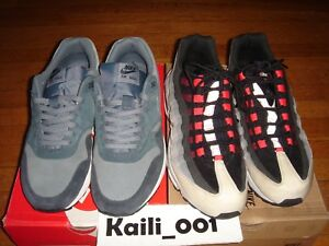 Nike Air Max 95 Air Max 1 Essential LTR Sz 12 Set USED 609048-065 ... 06473269d