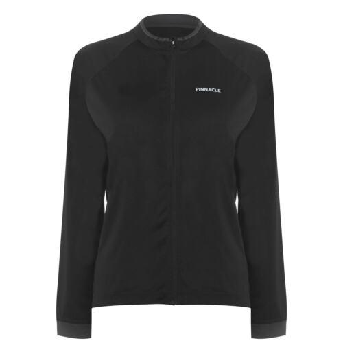 Top Zip Pinnacle Full Length Sleeve Cycling Jersey Ladies Cycle