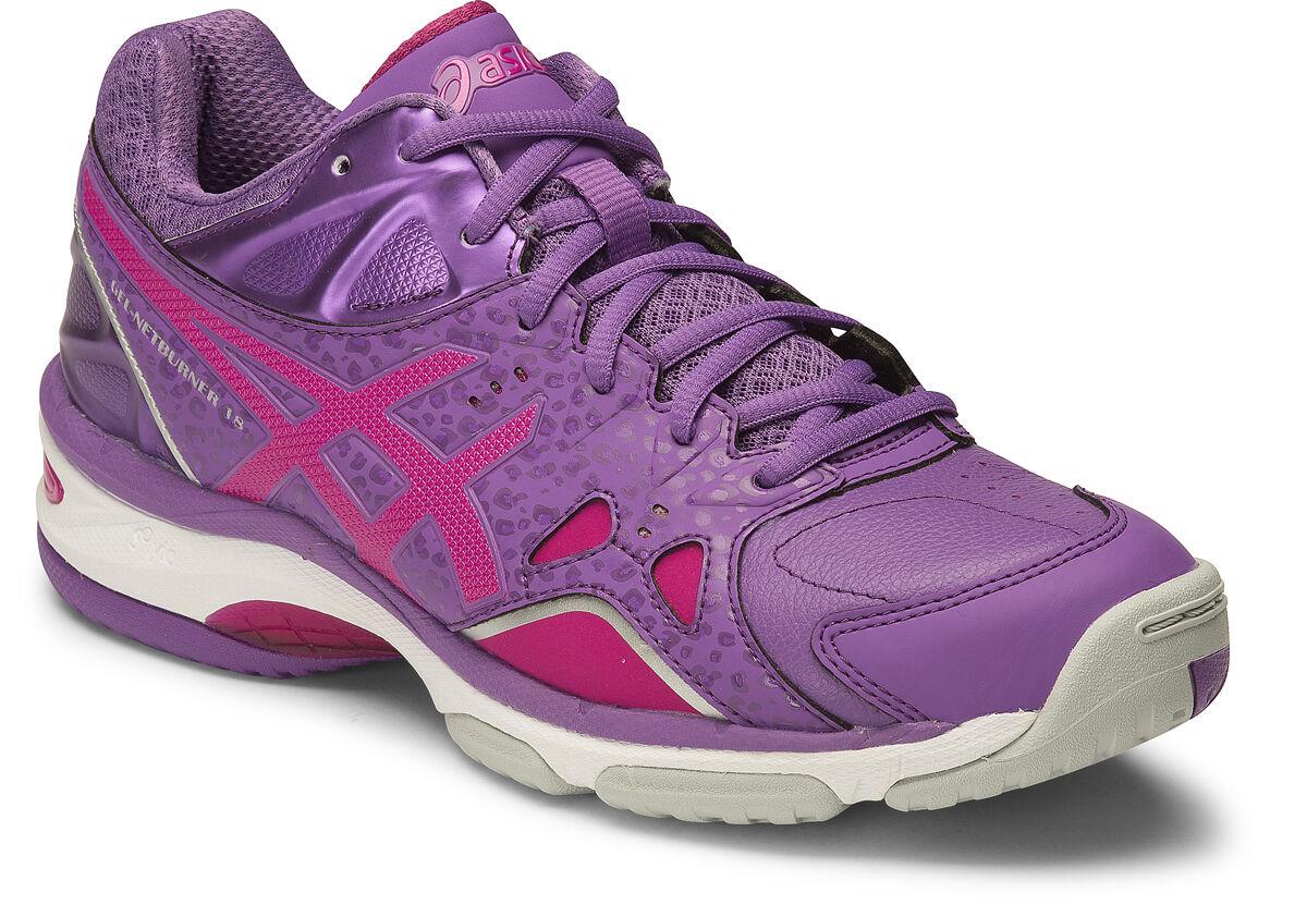 Asics Gel Netburner 18 femmes Netball chaussures (D) (3321)   SAVE