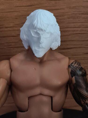 WWE Mattel custom head Cast-Mattel Jakks Spike Dudle 6 figure fourragères