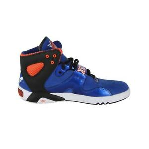 Details about Mens ADIDAS ROUNDHOUSE MID Blue Basketball Trainers M22339