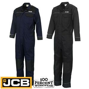 Pro-Heavy-Duty-JCB-Mens-Work-Overalls-Coveralls-Boiler-Suit-Boilersuit-Mechanics