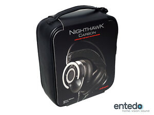 AudioQuest-Nighthawk-Over-Ear-Kopfhoerer-Carbon-Ohrhoerer-Headset-Mikrofon-NEU