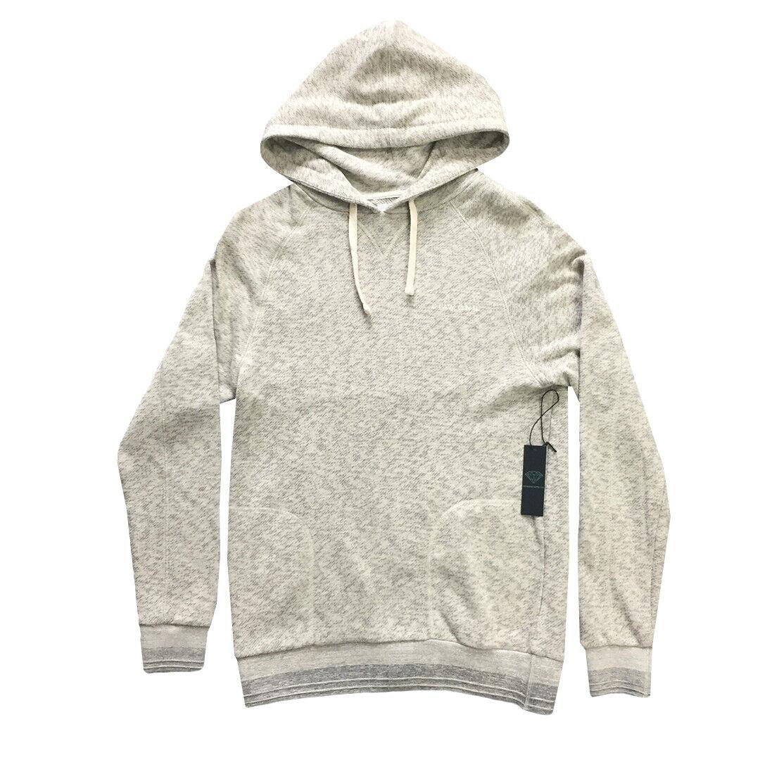 Diamond Supply Co Heather Grey Knit Hoodie