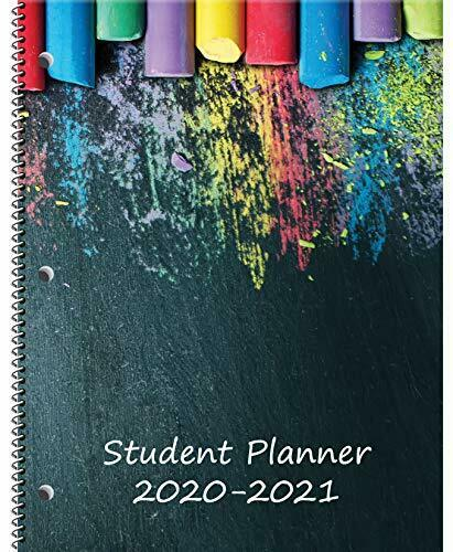 Dated Middle//High School Student Planner for Academic School Year 2020-2021 ...