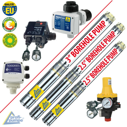 BOREHOLE PUMP DEEP WELL WATER PRESSURE BOOSTER AUTOMATIC SWITCH JET PUMP CONTROL